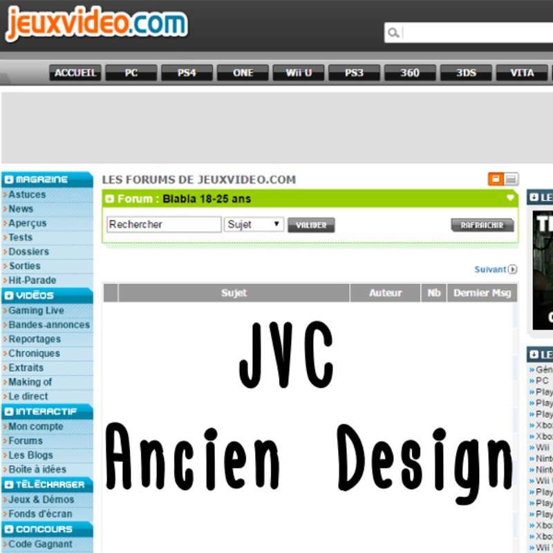 JVC Ancien Design logo